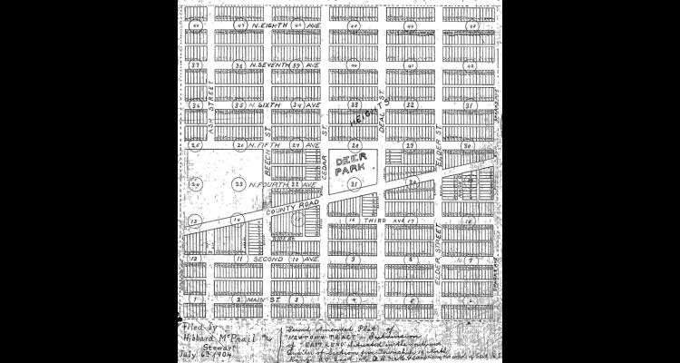 New Town Tract, 1903