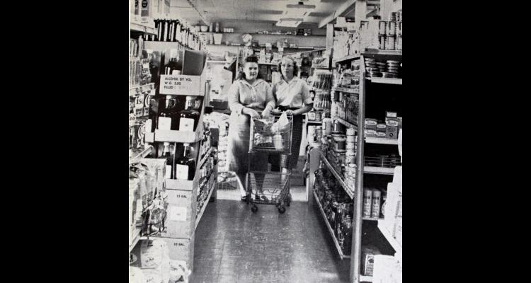 Park Grocery Interior