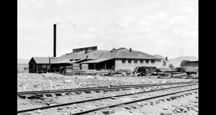 Reno Mill and Lumber from tracks