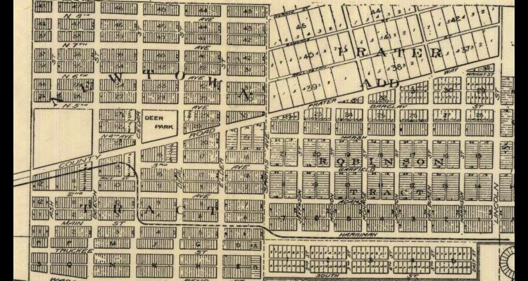 1907 Map of Sparks