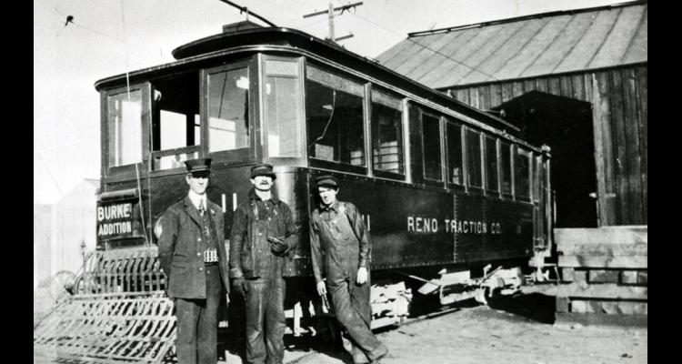 Reno Traction Company Car Barn